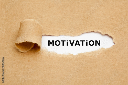 Motivation Torn Paper Concept Photo by Ivelin Radkov