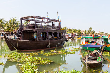 Am Ufer in Hoi An