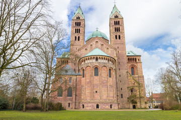 Speyer Cathedral Exterior