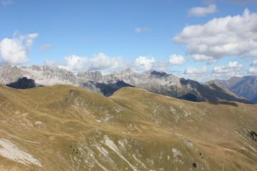 Berglandschaft Lechtal Österreich