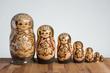 Rosyjska lalka Matrioszka - 80964001