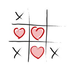 Tic Tac Toe - Love wins