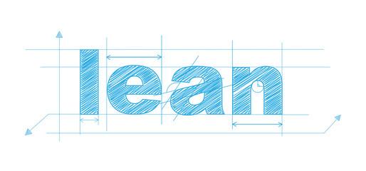 LEAN icon (enterprise performance continuous improvement)