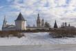 Вологда, Россия. Мельничная башня Спасо-Прилуцкого монастыря