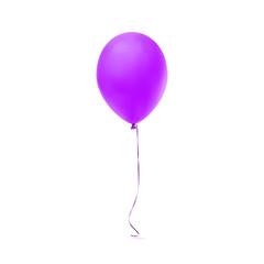 Purple balloon icon.