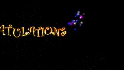 Congratulations (Fireworks)