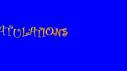 Congratulations Pan (Blue Screen)