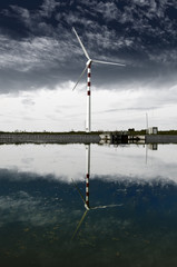Wind Turbine and Water: Pure energy