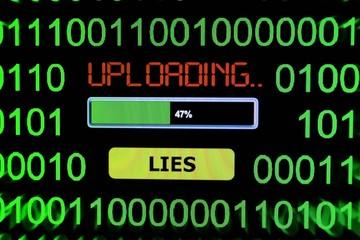 Upload lies