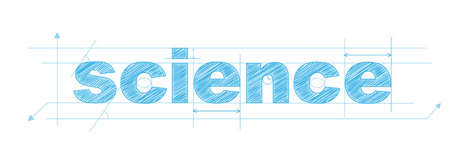 """SCIENCE"" icon (scientific research experiment maths)"