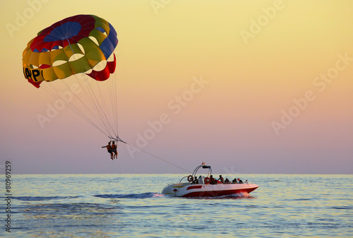 Papiers peints Turkey Parasailing