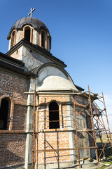 The Orthodox Church in construction