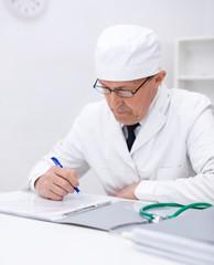 Portrait of medical doctor