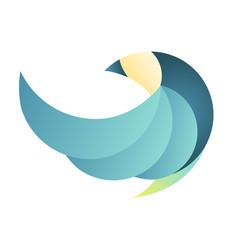 Logo Bird Motion Flat