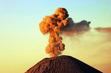 Mount Semeru Indonesia.