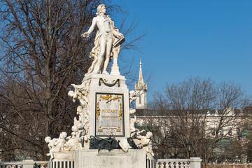 Mozart Denkmal in Wien