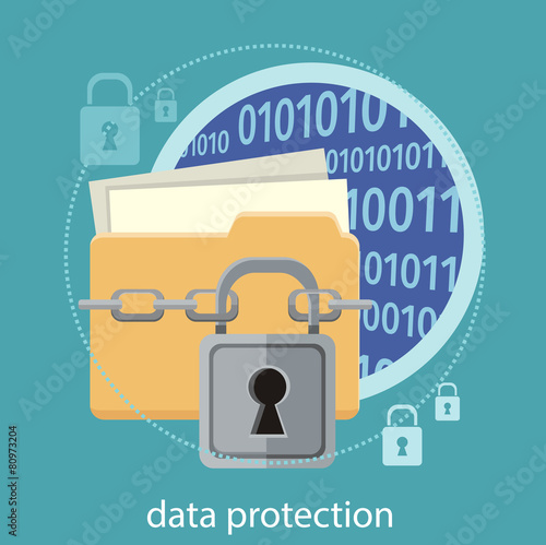 Data protection concept - 80973204