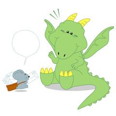 dinosaurs and postman rat