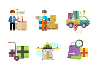 Concept of services in delivery goods