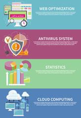 Antivirus system, cloud computing, statistics