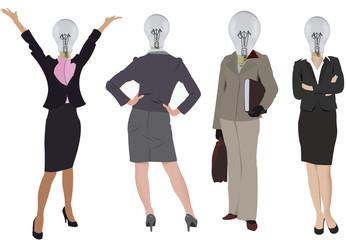 donne con le idee