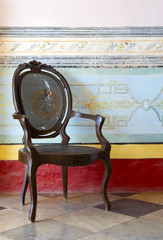 Old antique chair