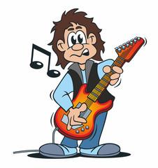 Musician Electric Guitar