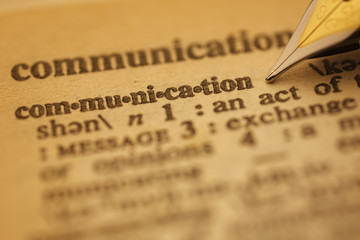 Dictionary Series : Communication