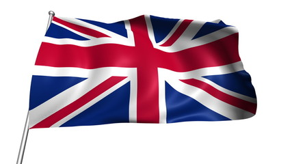 United Kingdom flag (loop, with alpha channel)