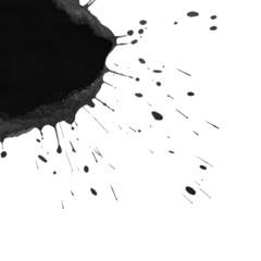 photo black blot background