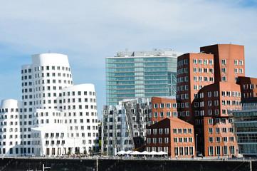 Medienhafen Düsseldorf. Ich liebe Düsseldorf