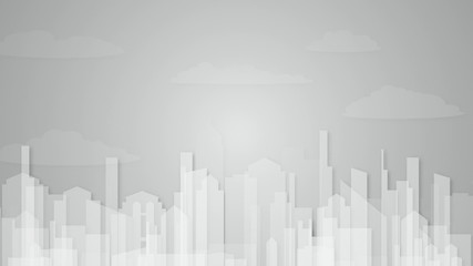 abstract urban animated background