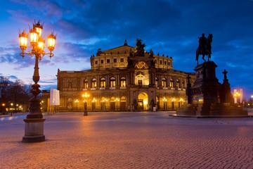 Semperoper in Dresden, Deutschland