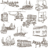 Transport pack - Freehand, Orginal sketches - 80985072