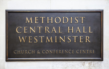Methodist Central Hall in Westminster
