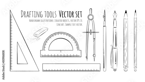 Drafting tools. - 80986808