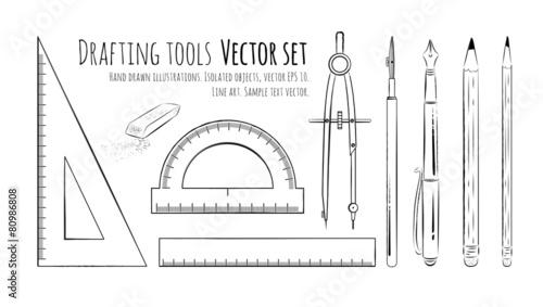 Drafting tools. - 80986808