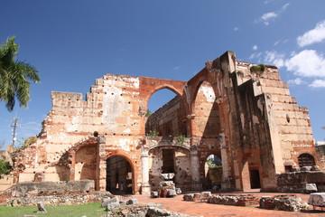 St Domingue, Ruines de l'hopital San Nicolas de Bari