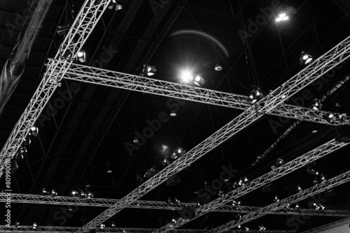 Foto op Canvas Stadion exhibition Hall Ceiling