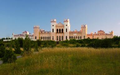 Kosava castle, palace, Kossovo, Brest region, Belarus