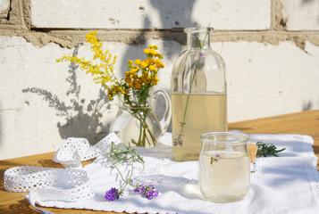 lavender lemonade with lemon juice