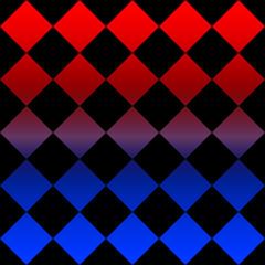 赤と青のグラデーション