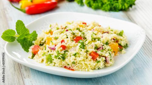 couscous salad - Couscous-Salat - 80991406