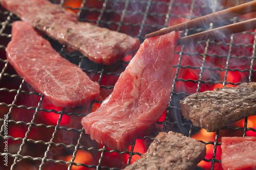 Picnic fotomural con barbacoa y carne carne y solomillo for Mural nuestra carne