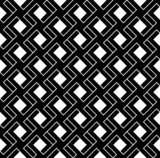 Black and white geometric seamless pattern. Abstract background.
