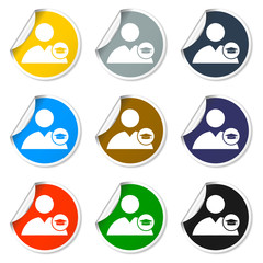 User icon Graduation cap