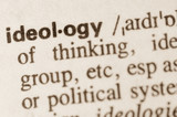 Dictionary definition of word ideology poster