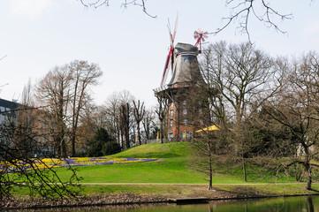 Herdentorswallmühle in Bremen