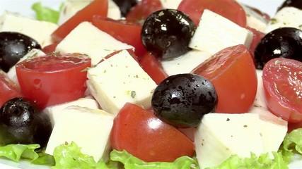 "Traditional Italian salad ""Caprese"""