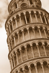 Tower in Pisa, Italy